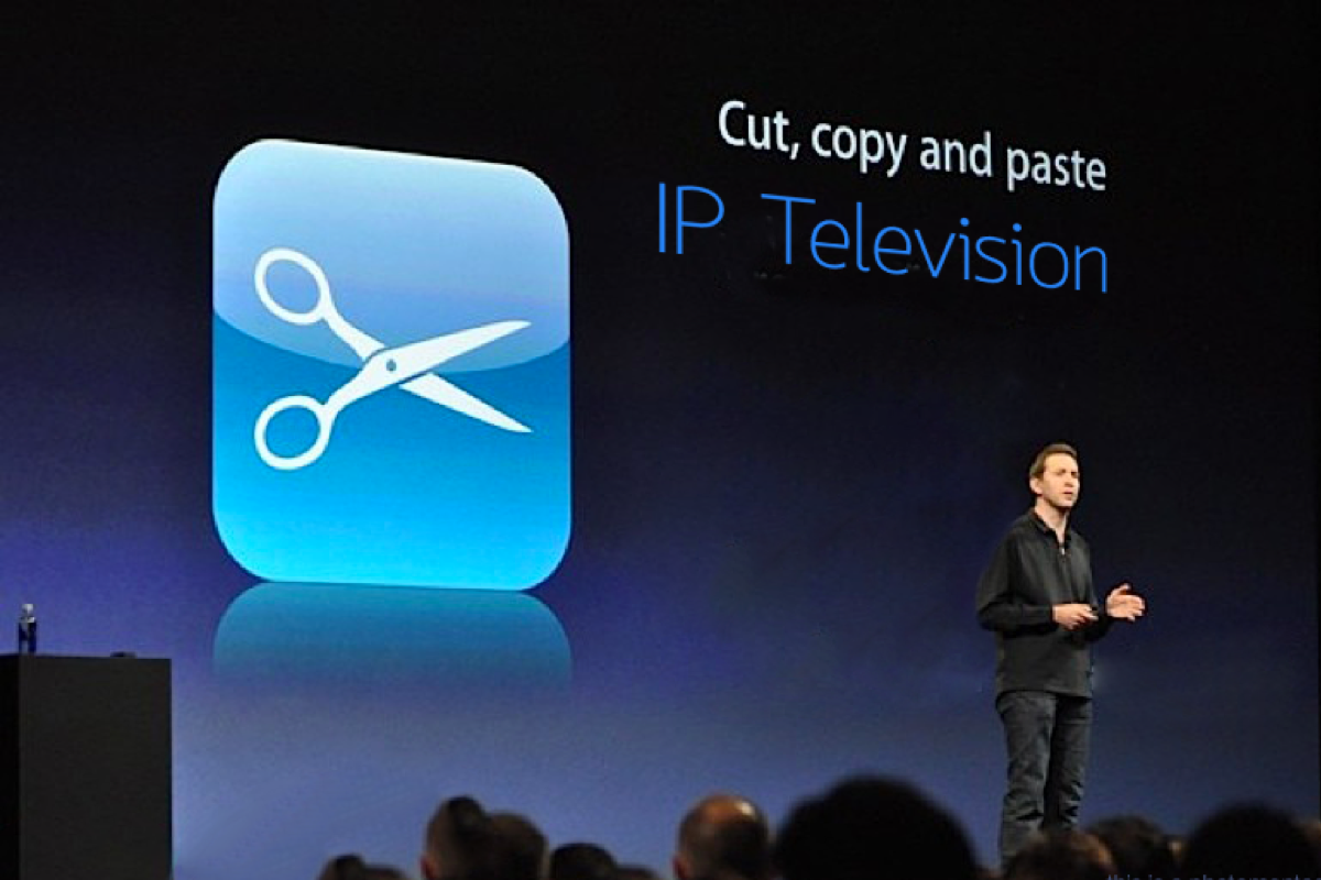 Copy and Paste with IP Television