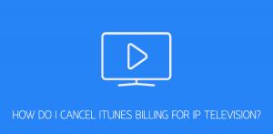 IPTV remove billing iTunes