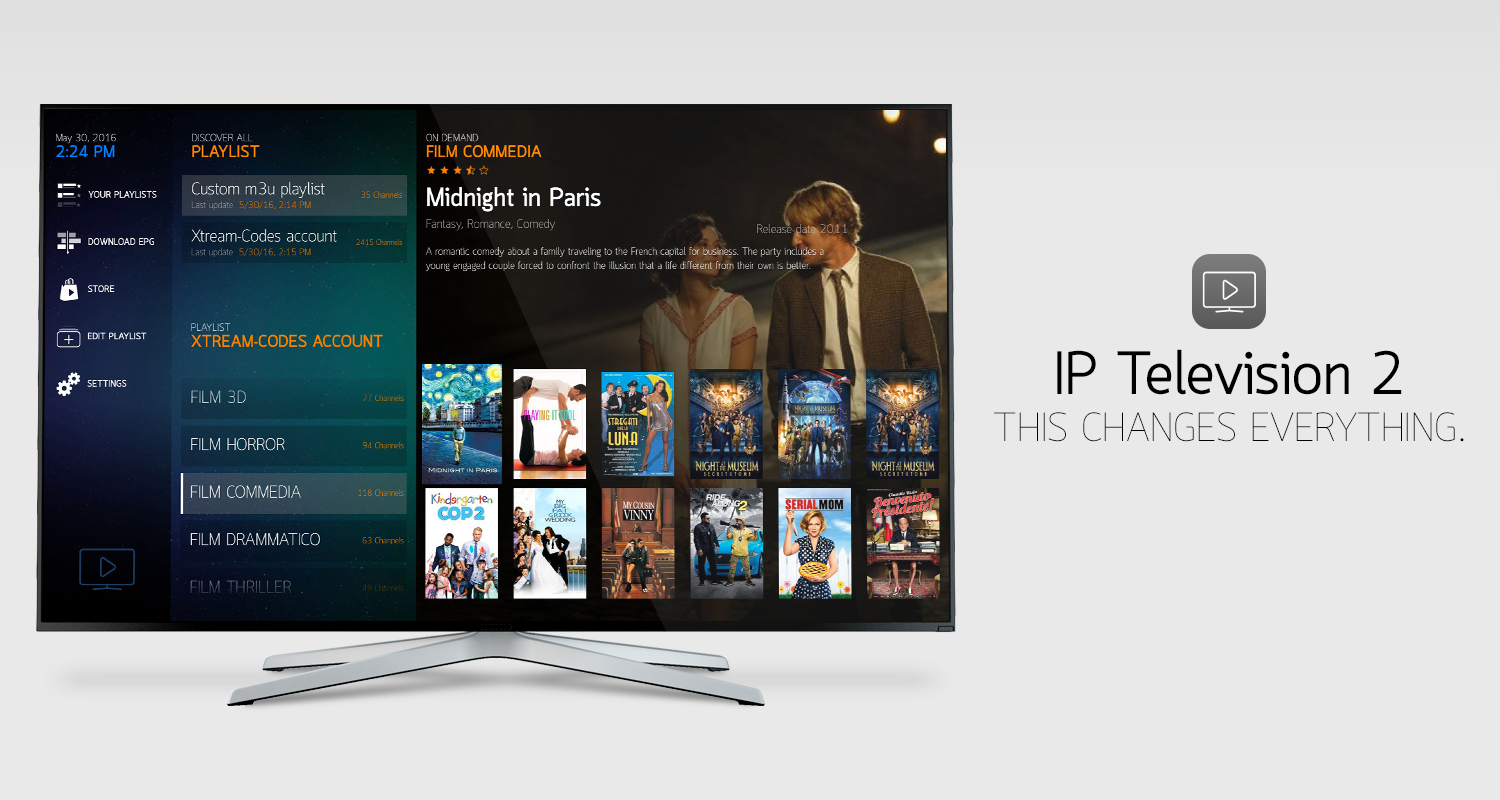 IP Television 2. For AppleTV