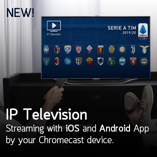 From today is available the new version of IP Television for Android with the possibility to watch your IPTV playlist directly by your Chromecast device.    Android App with Chromecasthttps://play.google.com/store/apps/details?id=tv.iptelevision.iptviOS App with… read more •••